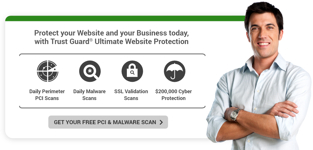 Trust Guard - Ultimate Website Protection Hero Call to Action